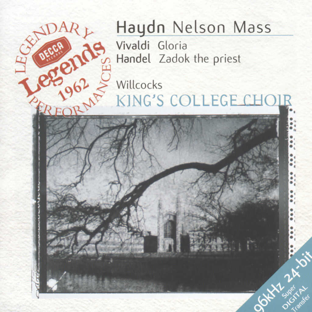 Elizabeth Vaughan, Dame Janet Baker, Sylvia Stahlman, Helen Watts, Wilfred Brown, Tom Krause, The Choir of King's College, Cambridge, London Symphony Orchestra, English Chamber Orchestra, Academy of St. Martin in the Fields & Sir David Willcocks