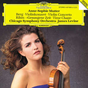 Anne-Sophie Mutter, Chicago Symphony Orchestra & James Levine
