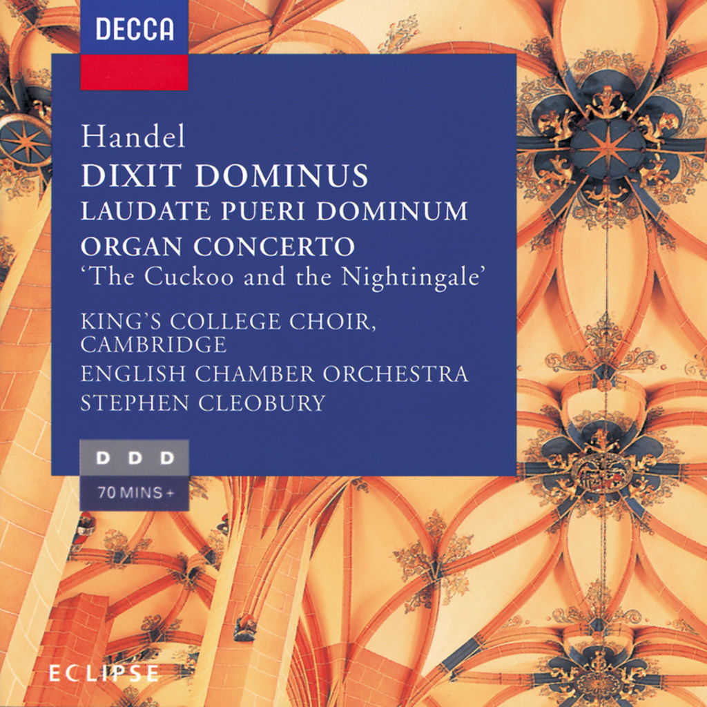 Ann Mackay, Isobel Buchanan, Michael Chance, Henry Herford, Peter Hurford, William Kendall, Stephen Cleobury, Joshua Rifkin, The Choir of King's College, Cambridge & English Chamber Orchestra