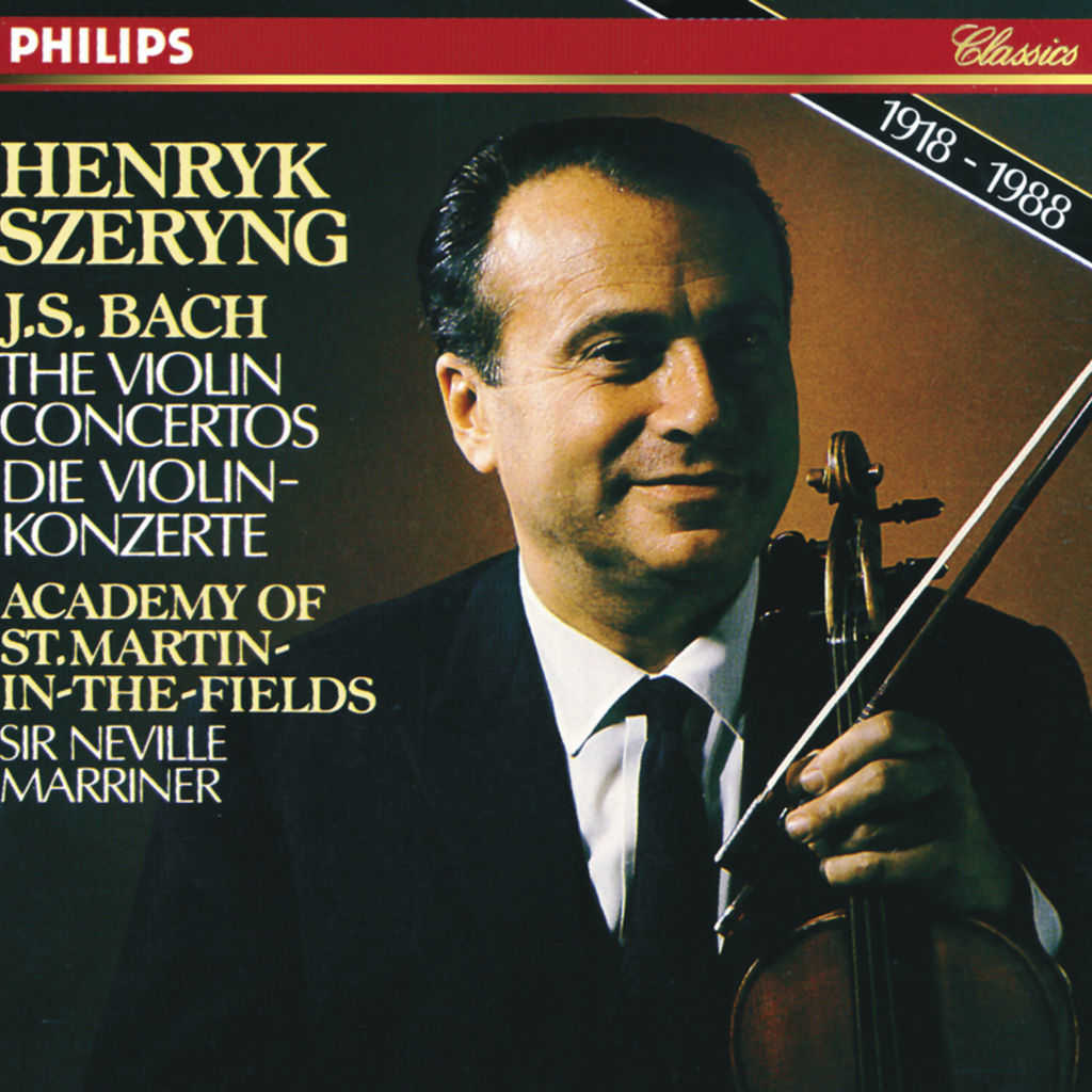 Maurice Hasson, Henryk Szeryng, Academy of St. Martin in the Fields & Sir Neville Marriner