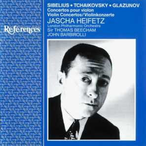 Jascha Heifetz/London Philharmonic Orchestra/Sir Thomas Beecham/Sir John Barbirolli