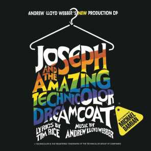"Andrew Lloyd Webber, Michael Damian, Kelli Rabke & ""Joseph And The Amazing Technicolor Dreamcoat"" 1993 Los Angeles Cast"