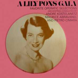 Lily Pons, Andre Kostelanetz and Columbia Symphony Orchestra