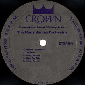 Stereophonic Sound Of Harry James