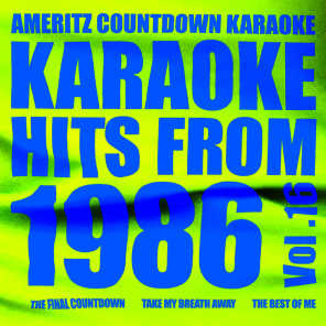 Ameritz Countdown Karaoke - Stay with Me (In the Style of Eighth