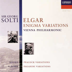 Elgar: Enigma Variations / Kodály: Peacock Variations / Blacher: Variations On A Theme Of Paganini