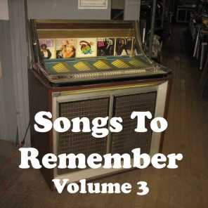 Songs to Remember Vol. 3