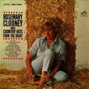 Rosemary Clooney Sings Country Hits from the Heart