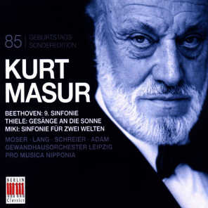 Kurt Masur 85th Anniversary
