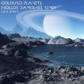 Coloured Planets