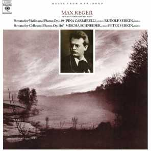 Reger: Violin Sonata No. 9, Op. 139 & Cello Sonata No. 4, Op. 116