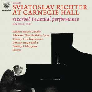 Sviatoslav Richter Recital -  Live at Carnegie Hall, October 25, 1960