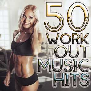 50 Workout Music Hits - High BPM Long Tracks Gym Ready Cardio Jogging Running Excercise Machine Speed Ramp Electronic Dance Hits