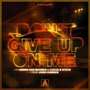 Don't Give Up On Me (feat. Josh Cumbee)
